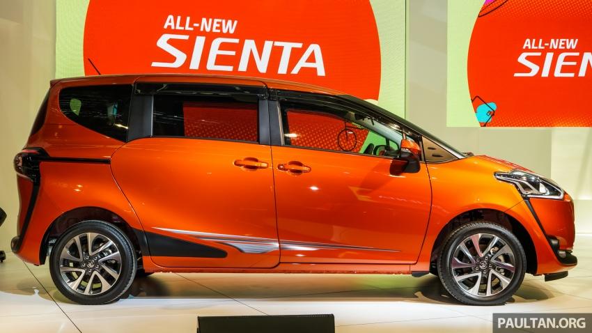 Toyota Sienta dilancarkan di Malaysia – dua varian dengan enjin 1.5L Dual VVT-i, harga bermula RM93k Image #536912