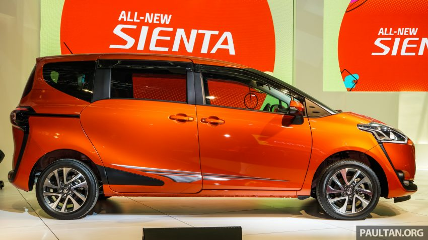 Toyota Sienta MPV launched in Malaysia, fr RM93k Image #536564
