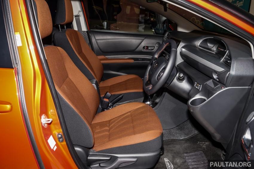 Toyota Sienta dilancarkan di Malaysia – dua varian dengan enjin 1.5L Dual VVT-i, harga bermula RM93k Image #536991