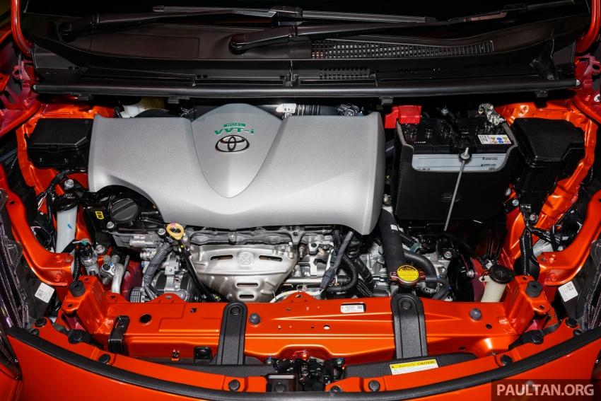 Toyota Sienta dilancarkan di Malaysia – dua varian dengan enjin 1.5L Dual VVT-i, harga bermula RM93k Image #536996