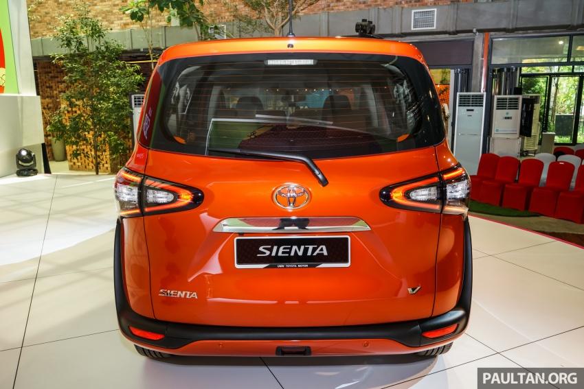 Toyota Sienta dilancarkan di Malaysia – dua varian dengan enjin 1.5L Dual VVT-i, harga bermula RM93k Image #536915