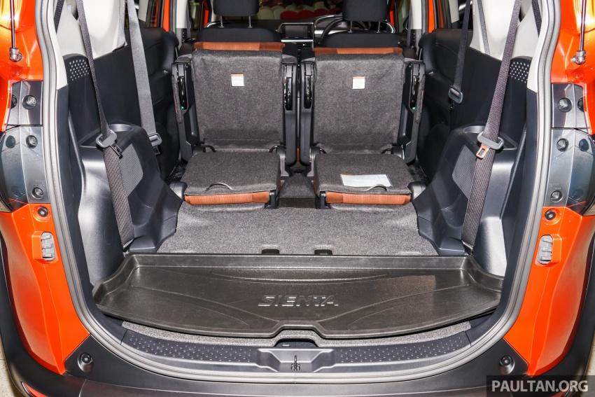 Toyota Sienta dilancarkan di Malaysia – dua varian dengan enjin 1.5L Dual VVT-i, harga bermula RM93k Image #537023