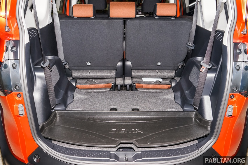 Toyota Sienta dilancarkan di Malaysia – dua varian dengan enjin 1.5L Dual VVT-i, harga bermula RM93k Image #537025