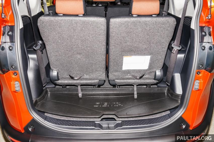 Toyota Sienta dilancarkan di Malaysia – dua varian dengan enjin 1.5L Dual VVT-i, harga bermula RM93k Image #537027