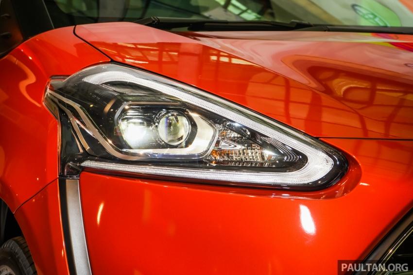Toyota Sienta dilancarkan di Malaysia – dua varian dengan enjin 1.5L Dual VVT-i, harga bermula RM93k Image #536917