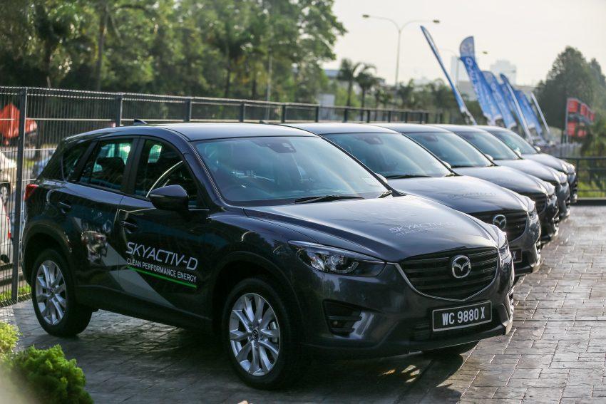 PANDU UJI: Mazda CX-5 2.2L SkyActiv-D – paradigma baharu teknologi diesel untuk kenderaan penumpang Image #536739