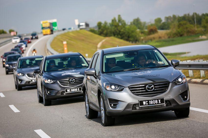 PANDU UJI: Mazda CX-5 2.2L SkyActiv-D – paradigma baharu teknologi diesel untuk kenderaan penumpang Image #536737