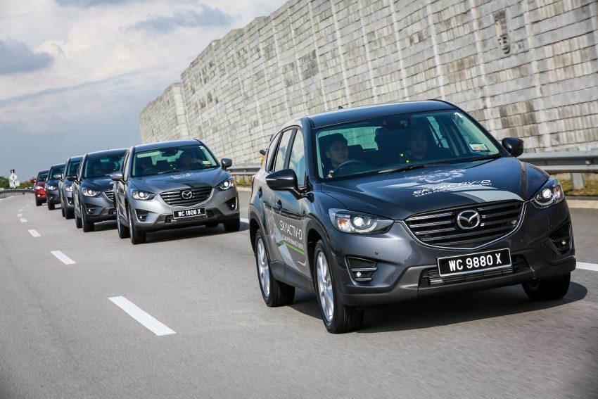 PANDU UJI: Mazda CX-5 2.2L SkyActiv-D – paradigma baharu teknologi diesel untuk kenderaan penumpang Image #536736