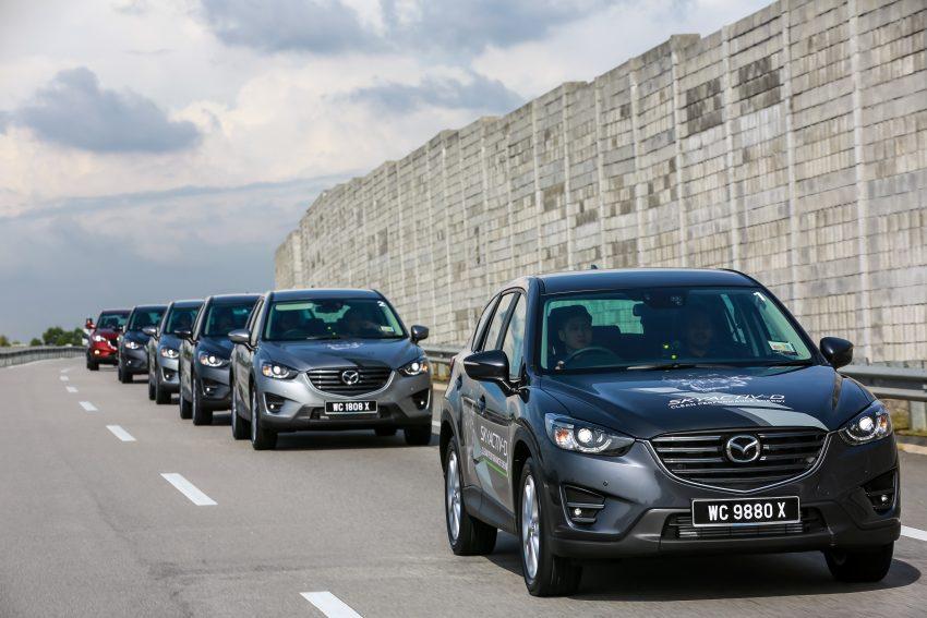 PANDU UJI: Mazda CX-5 2.2L SkyActiv-D – paradigma baharu teknologi diesel untuk kenderaan penumpang Image #536734