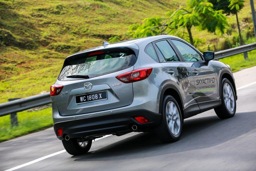 PANDU UJI: Mazda CX-5 2.2L SkyActiv-D – paradigma baharu teknologi diesel untuk kenderaan penumpang Image #536733