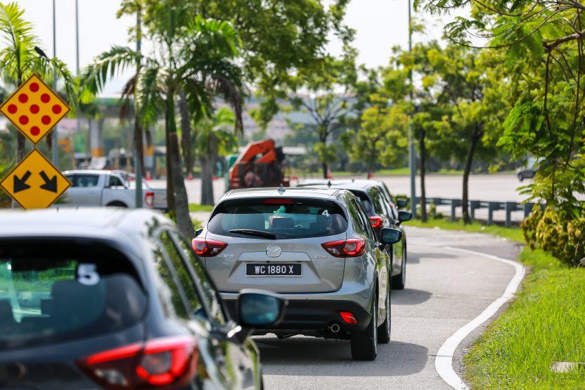PANDU UJI: Mazda CX-5 2.2L SkyActiv-D – paradigma baharu teknologi diesel untuk kenderaan penumpang Image #536732