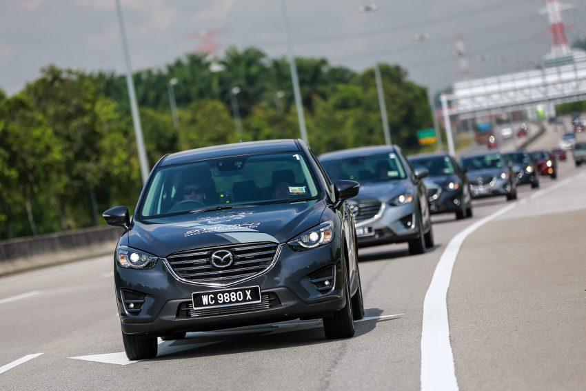PANDU UJI: Mazda CX-5 2.2L SkyActiv-D – paradigma baharu teknologi diesel untuk kenderaan penumpang Image #536731