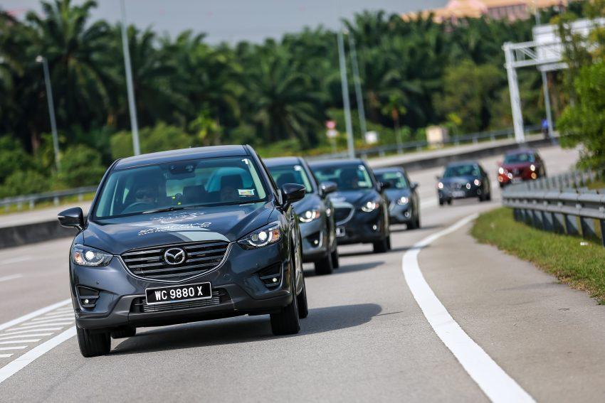 PANDU UJI: Mazda CX-5 2.2L SkyActiv-D – paradigma baharu teknologi diesel untuk kenderaan penumpang Image #536730