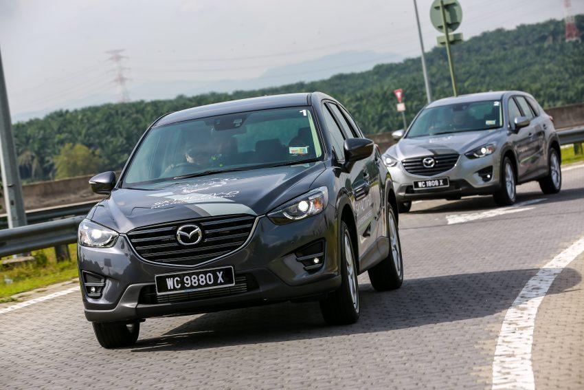 PANDU UJI: Mazda CX-5 2.2L SkyActiv-D – paradigma baharu teknologi diesel untuk kenderaan penumpang Image #536729