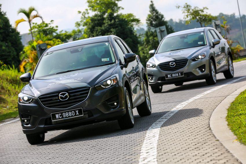 PANDU UJI: Mazda CX-5 2.2L SkyActiv-D – paradigma baharu teknologi diesel untuk kenderaan penumpang Image #536728