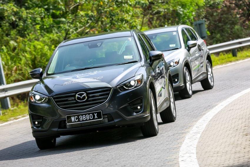 PANDU UJI: Mazda CX-5 2.2L SkyActiv-D – paradigma baharu teknologi diesel untuk kenderaan penumpang Image #536727