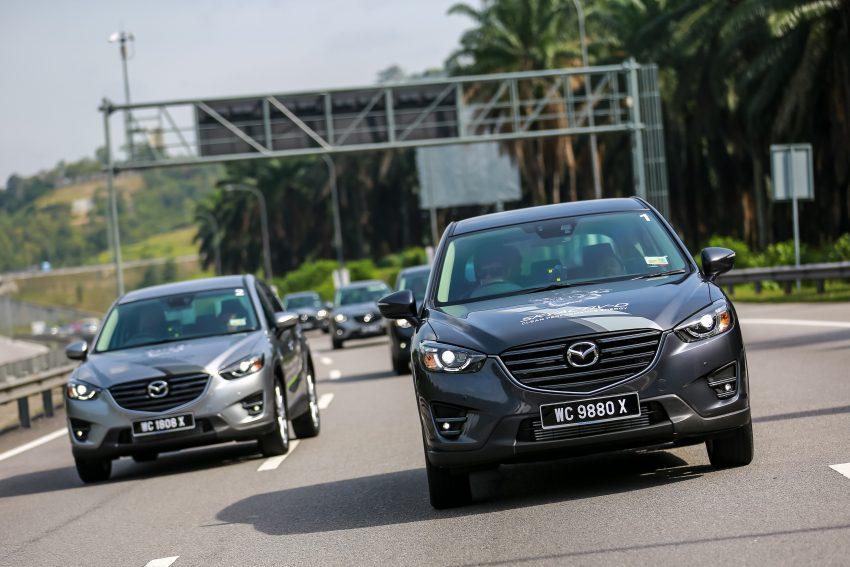 PANDU UJI: Mazda CX-5 2.2L SkyActiv-D – paradigma baharu teknologi diesel untuk kenderaan penumpang Image #536726