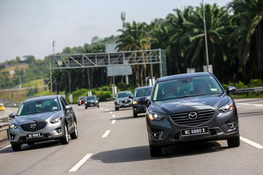 PANDU UJI: Mazda CX-5 2.2L SkyActiv-D – paradigma baharu teknologi diesel untuk kenderaan penumpang Image #536725