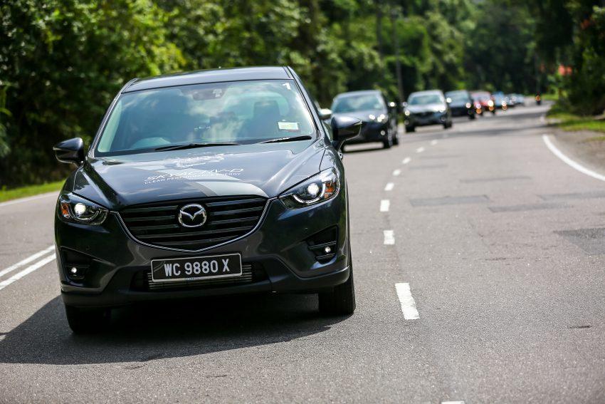PANDU UJI: Mazda CX-5 2.2L SkyActiv-D – paradigma baharu teknologi diesel untuk kenderaan penumpang Image #536724
