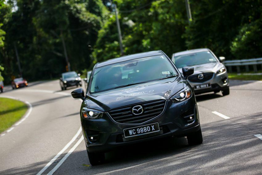 PANDU UJI: Mazda CX-5 2.2L SkyActiv-D – paradigma baharu teknologi diesel untuk kenderaan penumpang Image #536723