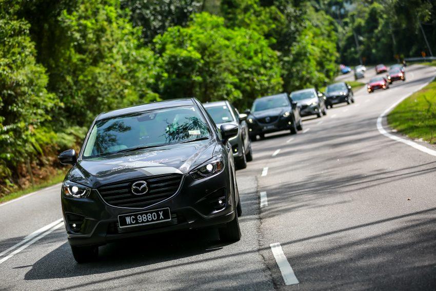 PANDU UJI: Mazda CX-5 2.2L SkyActiv-D – paradigma baharu teknologi diesel untuk kenderaan penumpang Image #536722