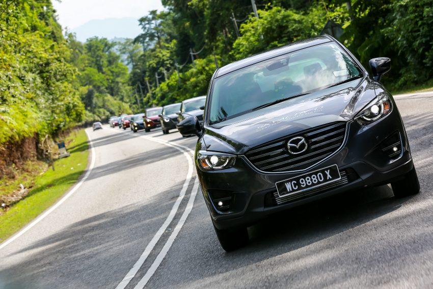 PANDU UJI: Mazda CX-5 2.2L SkyActiv-D – paradigma baharu teknologi diesel untuk kenderaan penumpang Image #536721