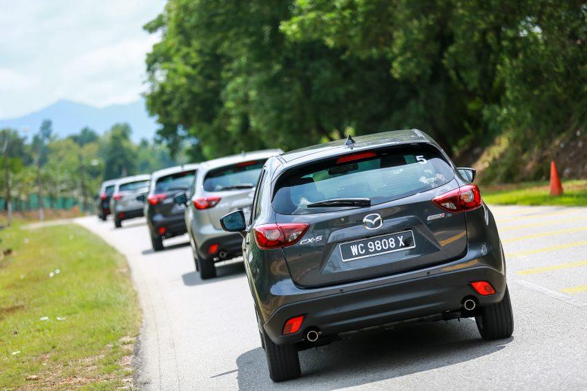PANDU UJI: Mazda CX-5 2.2L SkyActiv-D – paradigma baharu teknologi diesel untuk kenderaan penumpang Image #536719
