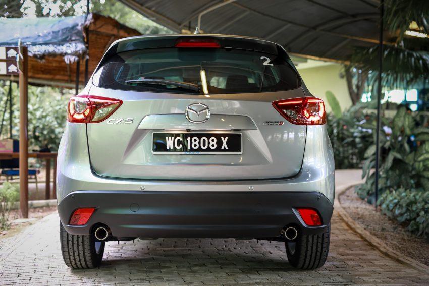 PANDU UJI: Mazda CX-5 2.2L SkyActiv-D – paradigma baharu teknologi diesel untuk kenderaan penumpang Image #536659