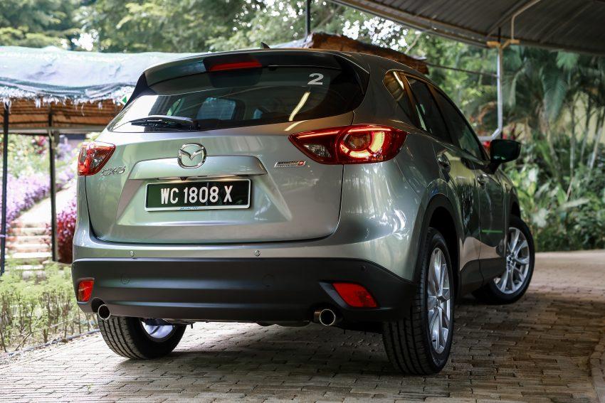 PANDU UJI: Mazda CX-5 2.2L SkyActiv-D – paradigma baharu teknologi diesel untuk kenderaan penumpang Image #536643