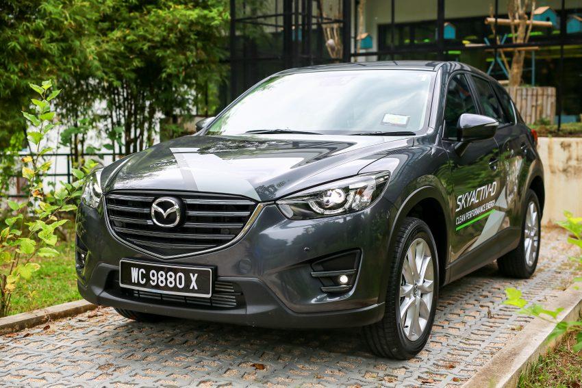 PANDU UJI: Mazda CX-5 2.2L SkyActiv-D – paradigma baharu teknologi diesel untuk kenderaan penumpang Image #536641