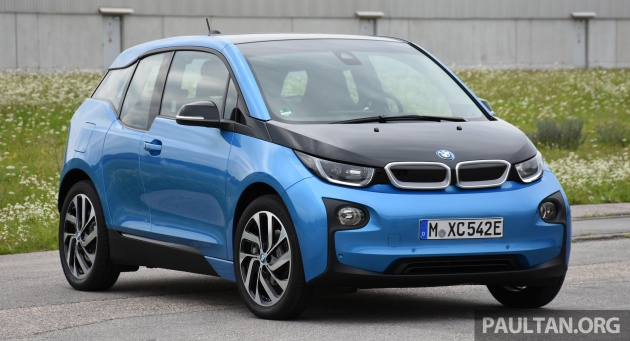 driven 2017 bmw i3 review longer range same great fun. Black Bedroom Furniture Sets. Home Design Ideas
