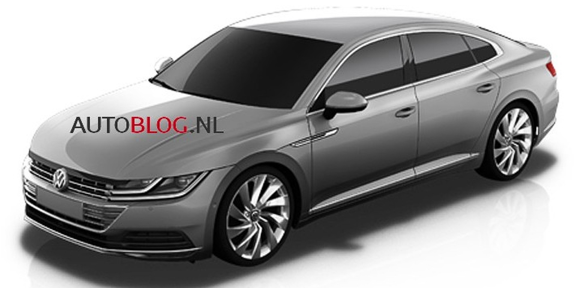 2017 volkswagen cc images of second gen leaked. Black Bedroom Furniture Sets. Home Design Ideas