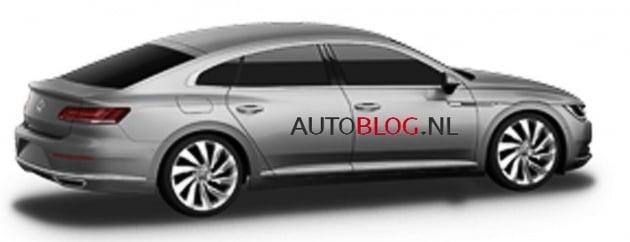 2017 VW CC leaked 2