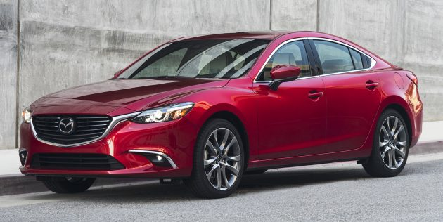 2017 Mazda 6 – update adds G-Vectoring Control tech