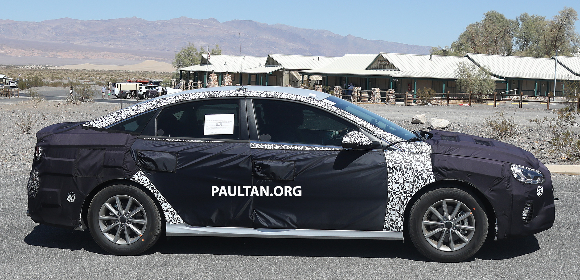 Hyundai Spy Shots >> SPYSHOTS: 2018 Hyundai Sonata facelift – N version? Paul Tan - Image 538359