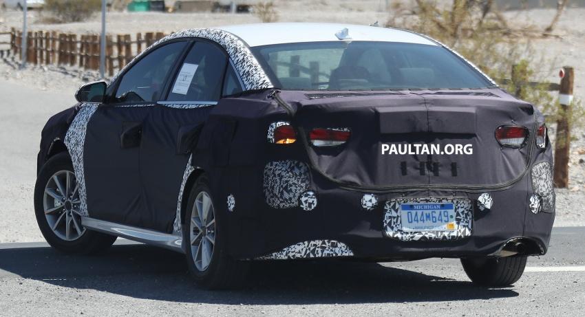 SPYSHOTS: 2018 Hyundai Sonata facelift – N version? Image ...