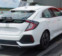 New Honda Civic hatchback heads stateside
