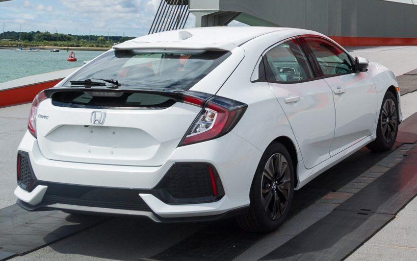 Honda Civic Hatchback 2017 – gambar pertama versi produksi untuk pasaran Amerika Syarikat didedahkan! Image #535005