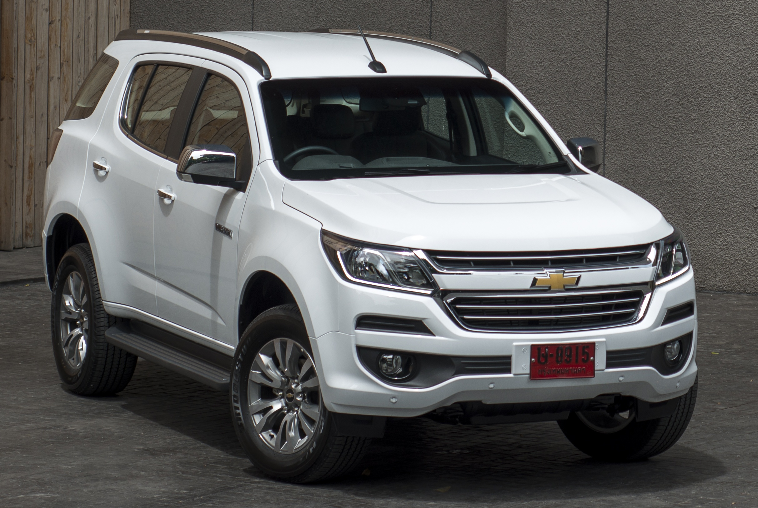 Chevrolet Trailblazer facelift launched in Bangkok