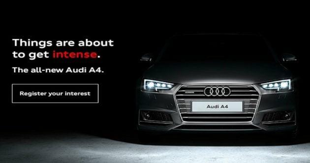 All-new B9 Audi A4 Malaysia teaser 2