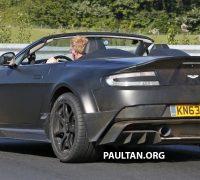 Aston Martin GT12 Roadster spyshots 14