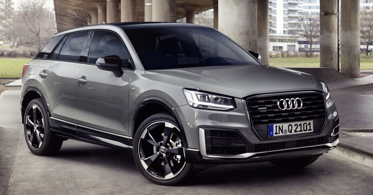 audi q2 edition 1 revealed with visual enhancements. Black Bedroom Furniture Sets. Home Design Ideas