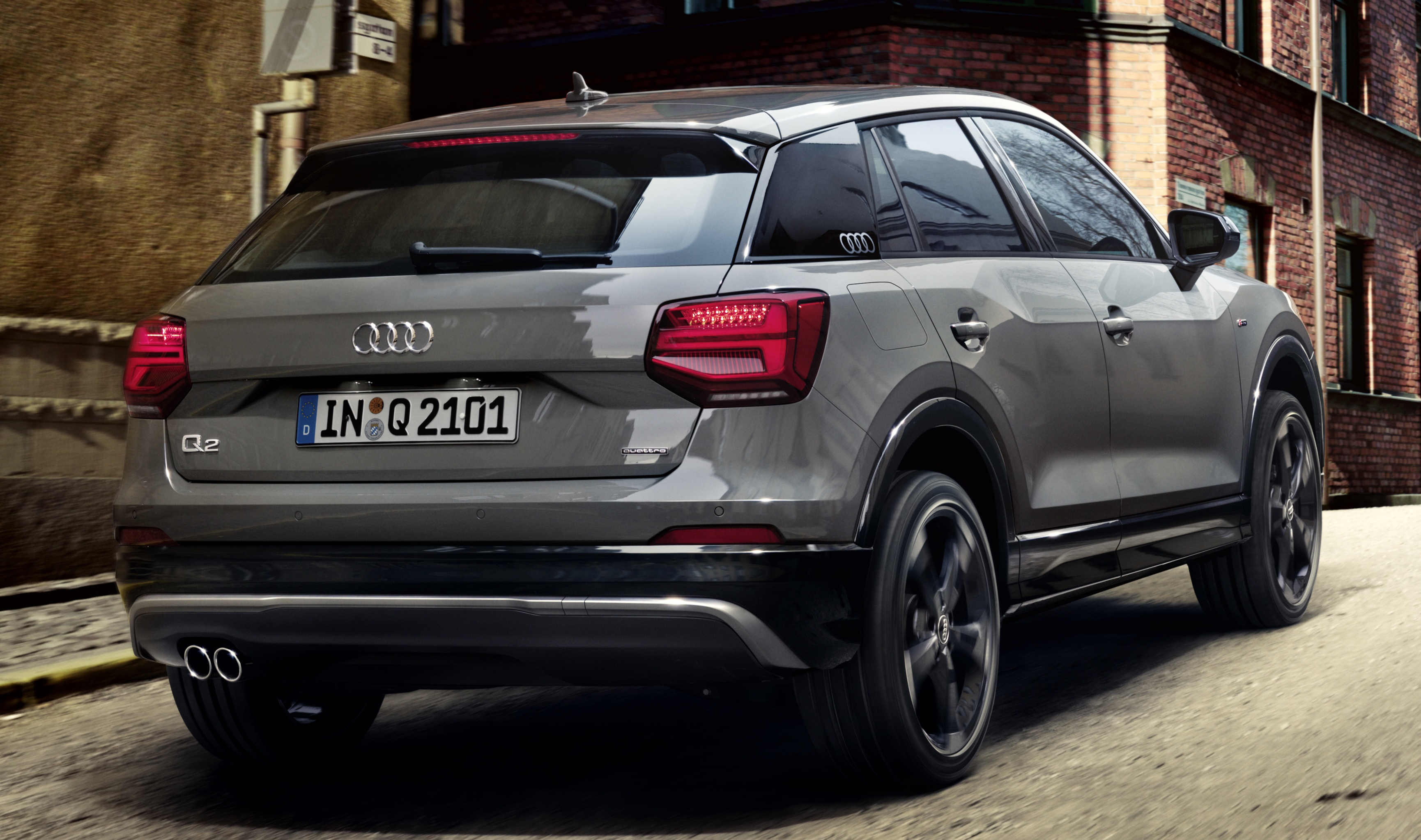audi q2 edition 1 revealed with visual enhancements paul. Black Bedroom Furniture Sets. Home Design Ideas