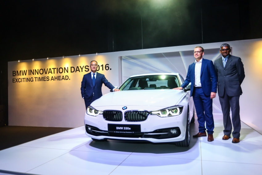 BMW 330e iPerformance Sport plug-in hybrid launched in Malaysia: 0-100 km/h 6.1 sec, 2.1 l/100 km, RM249k Image #540713
