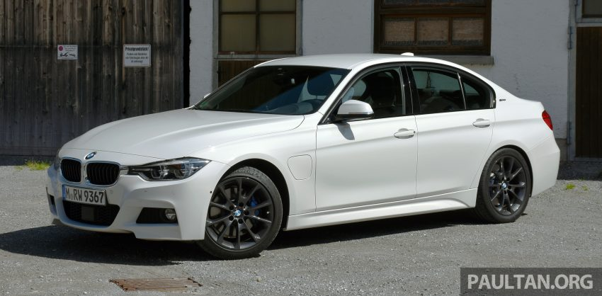 DRIVEN: BMW 330e iPerformance – the coming of age Image #535019
