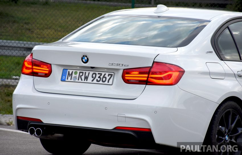 DRIVEN: BMW 330e iPerformance – the coming of age Image #535046
