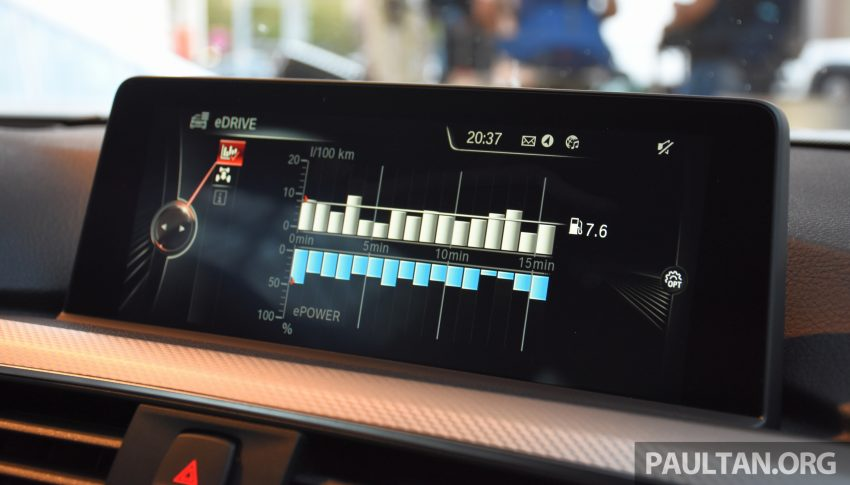 DRIVEN: BMW 330e iPerformance – the coming of age Image #535340