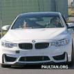 BMW M4 extreme aero spyshots 13