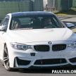 BMW M4 extreme aero spyshots 14