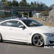 BMW M4 extreme aero spyshots 16